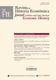 Revista de Historia Economica - Journal of Iberian and Latin American Economic History Volume 34 - Supplement3 -