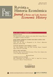 Revista de Historia Economica - Journal of Iberian and Latin American Economic History Volume 35 - Issue 2 -