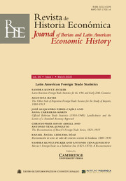 Revista de Historia Economica - Journal of Iberian and Latin American Economic History Volume 36 - Issue 1 -