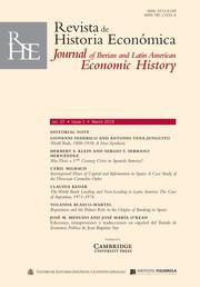 Revista de Historia Economica - Journal of Iberian and Latin American Economic History Volume 37 - Issue 1 -