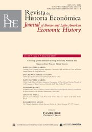 Revista de Historia Economica - Journal of Iberian and Latin American Economic History Volume 38 - Special Issue3 -  Creating global demand during the Early Modern Era