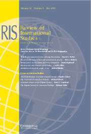 Review of International Studies Volume 29 - Issue 3 -