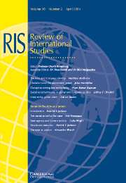 Review of International Studies Volume 30 - Issue 2 -