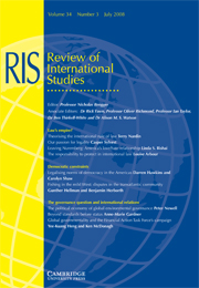 Review of International Studies Volume 34 - Issue 3 -
