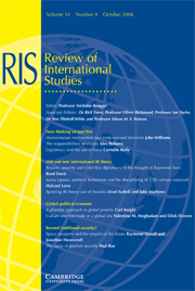 Review of International Studies Volume 34 - Issue 4 -