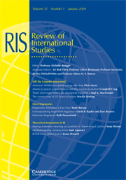 Review of International Studies Volume 35 - Issue 1 -