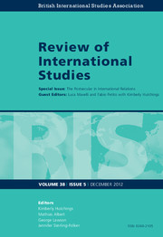 Review of International Studies Volume 38 - Issue 5 -  The Postsecular in International Relations