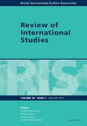 Review of International Studies Volume 39 - Issue 1 -