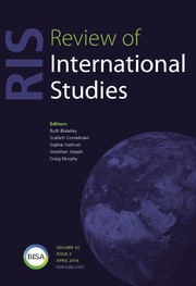 Review of International Studies Volume 42 - Issue 2 -