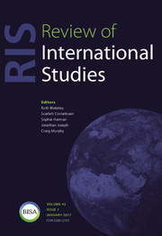 Review of International Studies Volume 43 - Issue 1 -