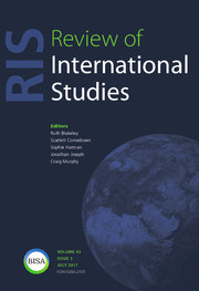Review of International Studies Volume 43 - Issue 3 -
