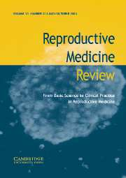 Reproductive Medicine Review