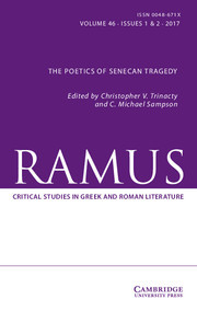 Ramus Volume 46 - Issue 1-2 -