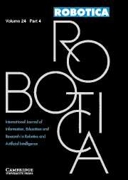 Robotica Volume 24 - Issue 4 -