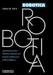 Robotica Volume 24 - Issue 5 -