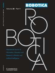 Robotica Volume 26 - Issue 1 -