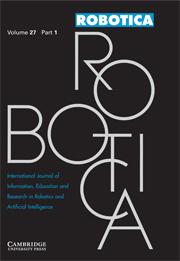 Robotica Volume 27 - Issue 1 -