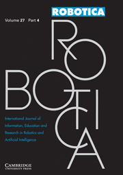 Robotica Volume 27 - Issue 4 -
