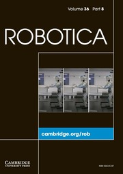 Robotica Volume 36 - Issue 8 -
