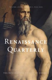 Renaissance Quarterly Volume 73 - Issue 3 -