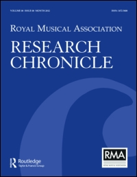R.M.A. Research Chronicle