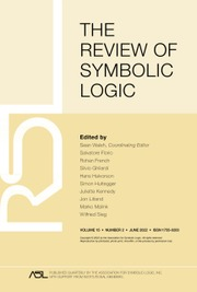 The Review of Symbolic Logic