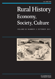 Rural History Volume 22 - Issue 2 -