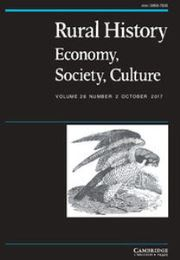 Rural History Volume 28 - Issue 2 -