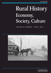Rural History Volume 30 - Issue 1 -