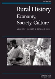 Rural History Volume 31 - Issue 2 -