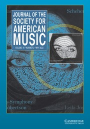 Journal of the Society for American Music