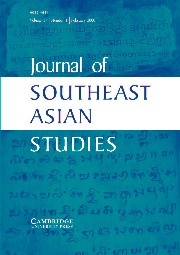 Journal of Southeast Asian Studies Volume 37 - Issue 1 -