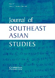 Journal of Southeast Asian Studies Volume 37 - Issue 2 -