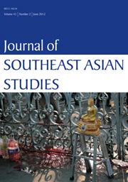 Journal of Southeast Asian Studies Volume 43 - Issue 2 -