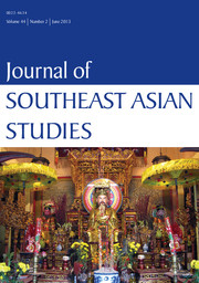 Journal of Southeast Asian Studies Volume 44 - Issue 2 -