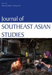 Journal of Southeast Asian Studies Volume 48 - Issue 1 -