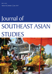 Journal of Southeast Asian Studies Volume 48 - Issue 2 -
