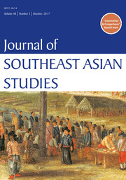 Journal of Southeast Asian Studies Volume 48 - Issue 3 -