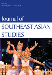 Journal of Southeast Asian Studies Volume 49 - Issue 1 -