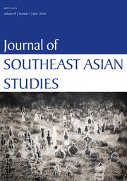 Journal of Southeast Asian Studies Volume 49 - Issue 2 -
