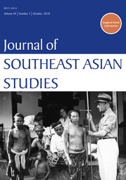 Journal of Southeast Asian Studies Volume 49 - Issue 3 -