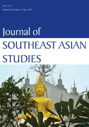 Journal of Southeast Asian Studies Volume 50 - Issue 2 -