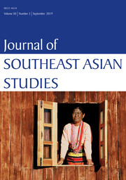 Journal of Southeast Asian Studies Volume 50 - Issue 3 -