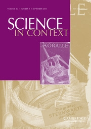 Science in Context Volume 26 - Issue 3 -  Communicating Science: National Approaches in Twentieth-Century Europe