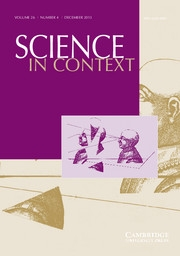 Science in Context Volume 26 - Issue 4 -  Approaches, Styles, and Narratives: Reflections on Doing History of Science