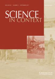 Science in Context Volume 30 - Issue 3 -  From Qing to China: Knowledge Systems in Transformation