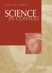 Science in Context Volume 30 - Issue 4 -