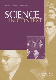 Science in Context Volume 31 - Issue 1 -  Science in Film and the Deficit Model