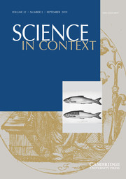 Science in Context Volume 32 - Issue 3 -