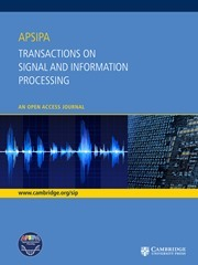 APSIPA Transactions on Signal and Information Processing